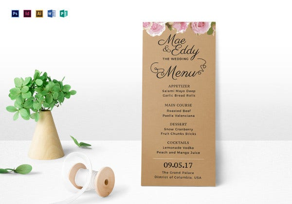 rustic-wedding-menu-indesign-template