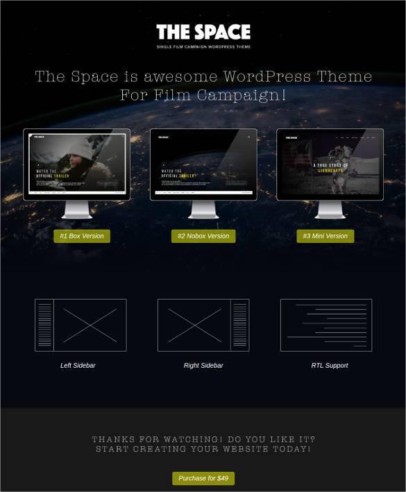 single-movie-promotion-campaign-wordpress-theme