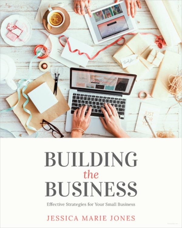 small-business-book-cover-template