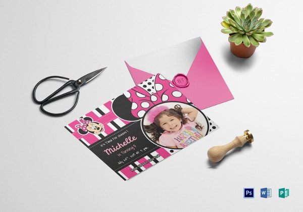 sparkling-minnie-mouse-birthday-invitation-card-template