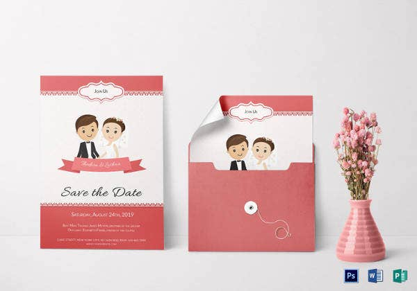 26+ Wedding Reception Invitation Templates – Free Sample, Example ...