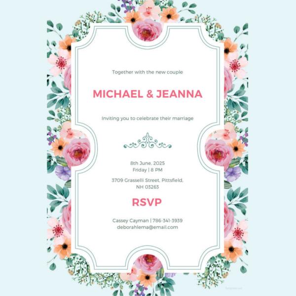wedding-ticket-invitation-template