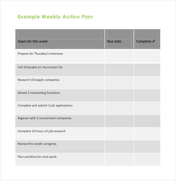 weekly-action-plan