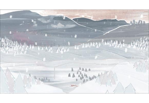 winter animated background