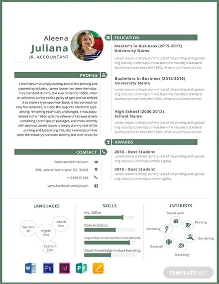 free junior accountant