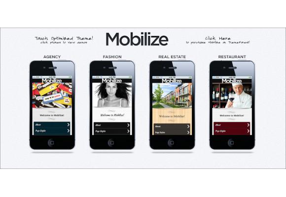 jquery mobile wordpress theme