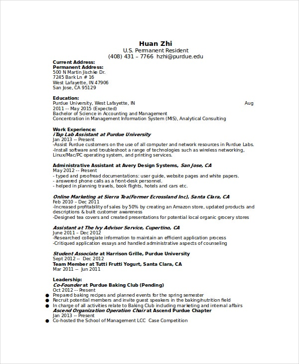 management proofreader resume