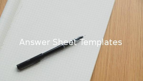 answersheettemplates