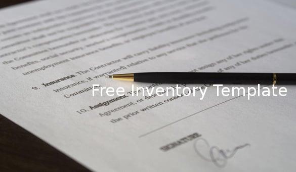 freeinventorytemplate