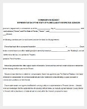 Agencies Commission Agreement Template
