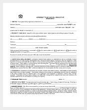 Agreement To Buy-Sell Real Estate PDF Format