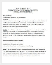 Contract Franchise Agreement Template