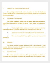 Distribution Company-Supplier Service Agreement