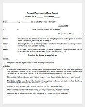 Prenuptial Agreement for Mutual Respect