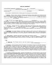 sublease apartment agreement