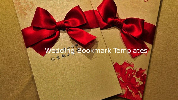 weddingbookmark