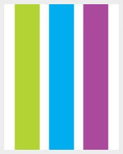 Colorful Free Blank Bookmark