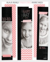 Photo Bookmark Template Ready To Edit Download