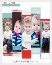 Professional Photo Bookmark Template Download