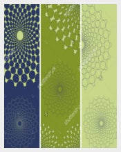 Set Of 3 Bookmark Deigns With Lace Dots Download