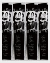 Wedding Bookmark Design Template