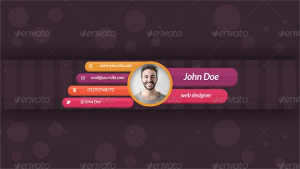 jhon doe business youtube banner template psd design