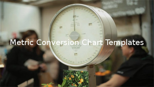 metric conversion chart templates