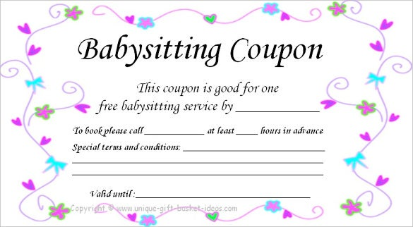 12  coupon templates