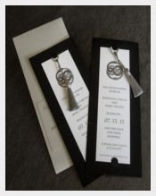 Attractive Save The Date Bookmark Templates