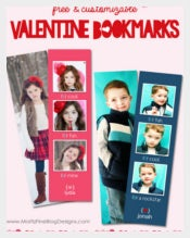 Colorful Photo Bookmark Templates