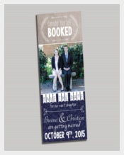 Easy To Edit Save The Date Bookmark Templates