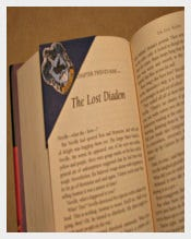 Harry Potter House Crest Corner Bookmark Templates
