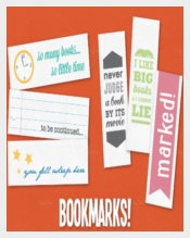 Multipurpose Bookmark Design Template