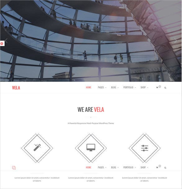 responsive business multi purpose website theme
