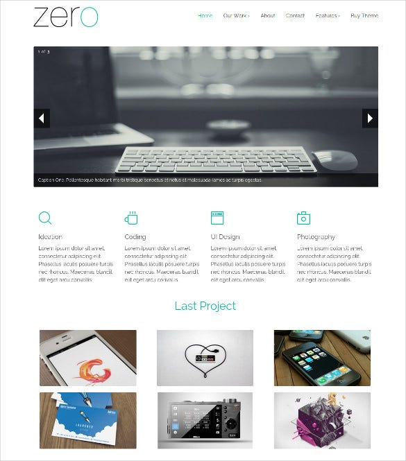 responsive mobile html5 website theme