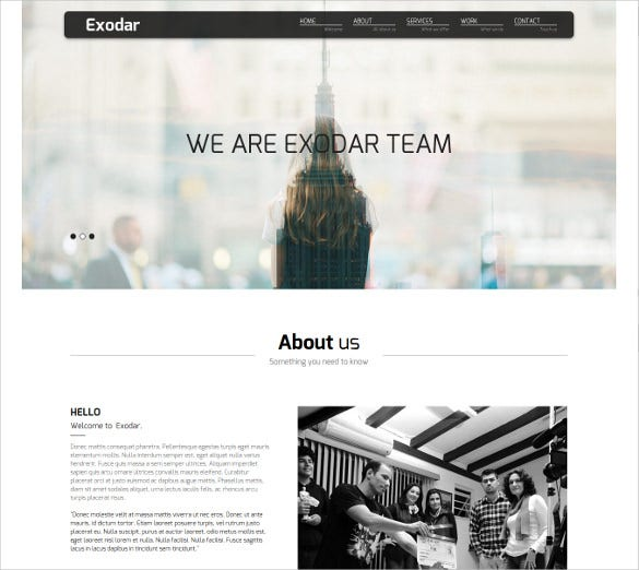 creative mobile ready muse website template