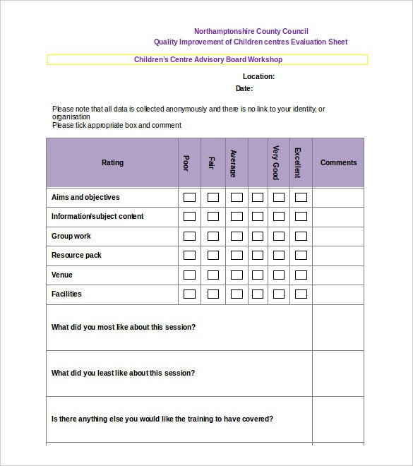 Survey Template – 14+ Free Word, Pdf Documents Download! | Free