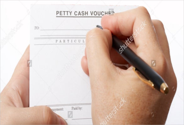 eps format blank petty cash voucher templates