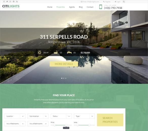31+ Real Estate Joomla Themes & Templates | Free & Premium Templates