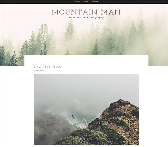 29 Free Premium Photography Website Themes Templates – Photo Album Templates Free