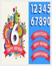 Designed Birthday Poster Templates