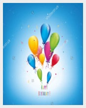 Print Ready Birthday Postcard Templates