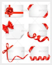 Red Color Birthday Coupon Templates