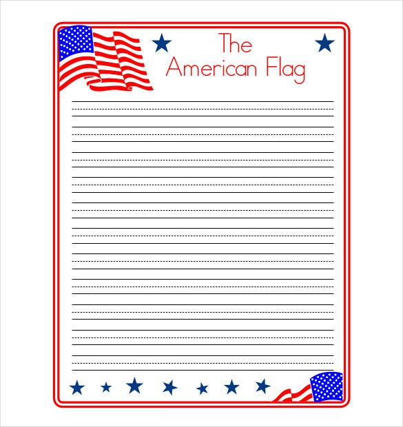 Sample Lined Paper For Kids PDF Format  Download Lined Paper