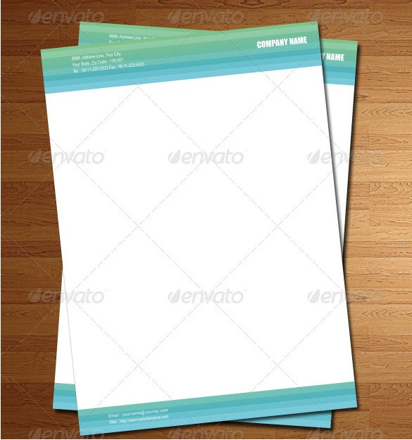 Letterhead template 6 free psd eps documents download free eps format company letterhead template download wajeb Gallery