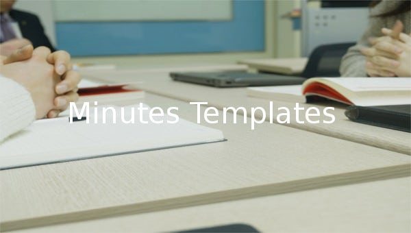 minutes template