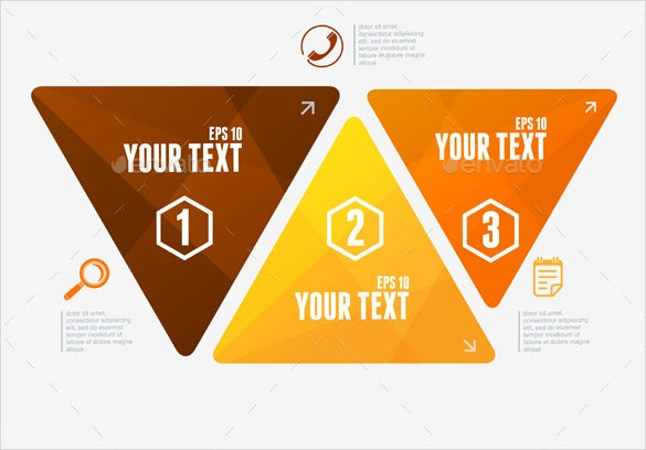 vector triangles options banner eps download