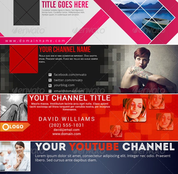 premium youtube background bundle download psd download