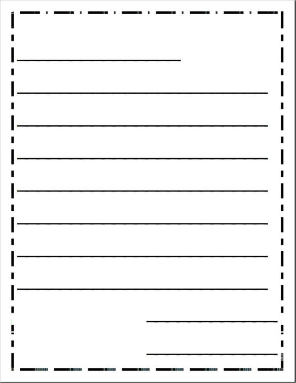 write a letter template   Physic.minimalistics.co