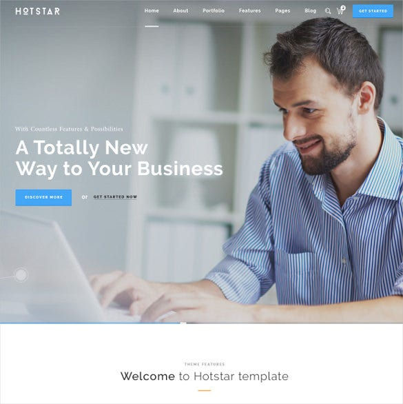hotstar – multi purpose business theme